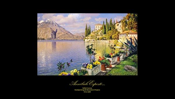 Paesaggio del lago di Como - REF. 28.82