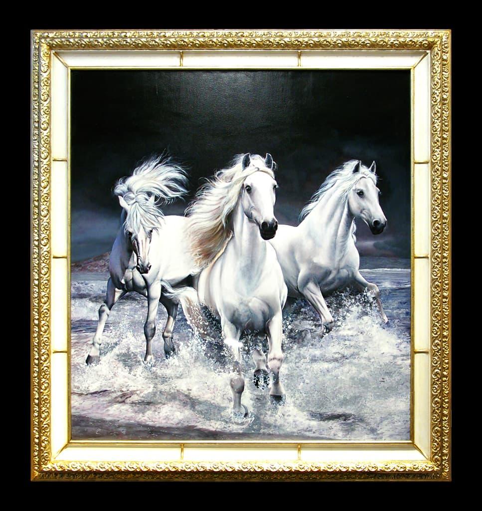 Annibale Esposti dipinti italiani - collezione animalier